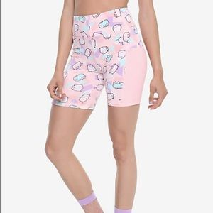 Pusheen Hot Topic Active Biker Shorts Pink Print